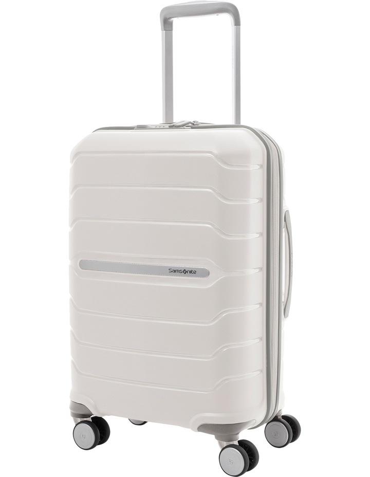 Octolite Hardside Spinner Case Small 55cm White 2.4kg image 1