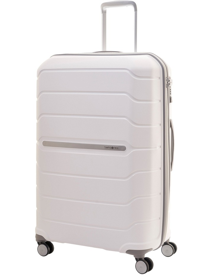 Octolite Hardside Spinner Case Large 75cm White 4kg image 1