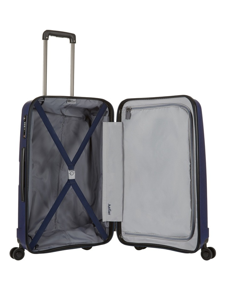 Lightning Hardside Spinner Case Medium 67cm Navy 3.1kg image 3