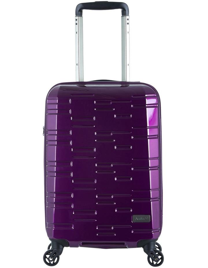 Prism Hardside Spinner Case Small 56cm: Purple: 2.1kg image 1