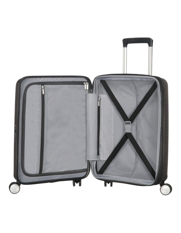 Curio Hardside Spinner Case Small 55cm Black 2.6kg image 2