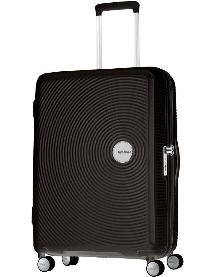 Curio Expandable Hardside Spinner Case Medium 70cm Black 3.8kg image 1