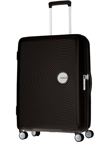 a6a783765c1e American TouristerCurio Expandable Hardside Spinner Case Large 80cm Black  4.8kg. American Tourister Curio Expandable Hardside Spinner Case Large 80cm  Black ...