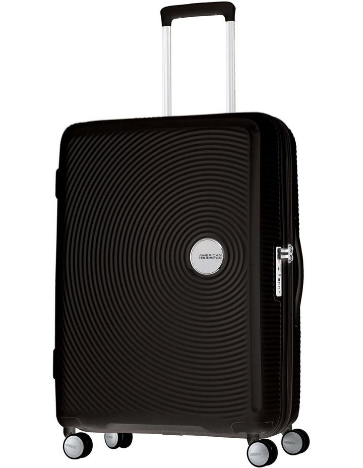 Curio Expandable Hardside Spinner Case Large 80cm Black 4.8kg image 1