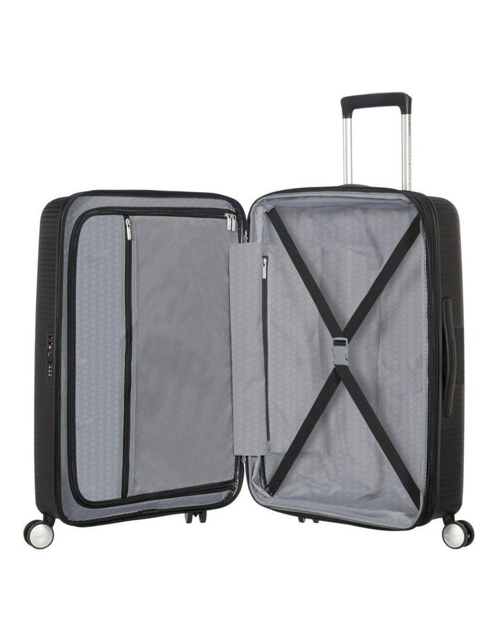Curio Expandable Hardside Spinner Case Large 80cm Black 4.8kg image 3