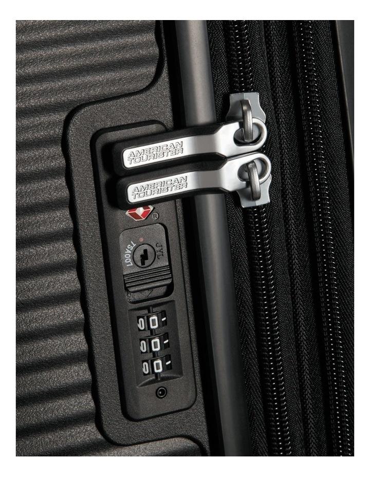Curio Expandable Hardside Spinner Case Large 80cm Black 4.8kg image 5