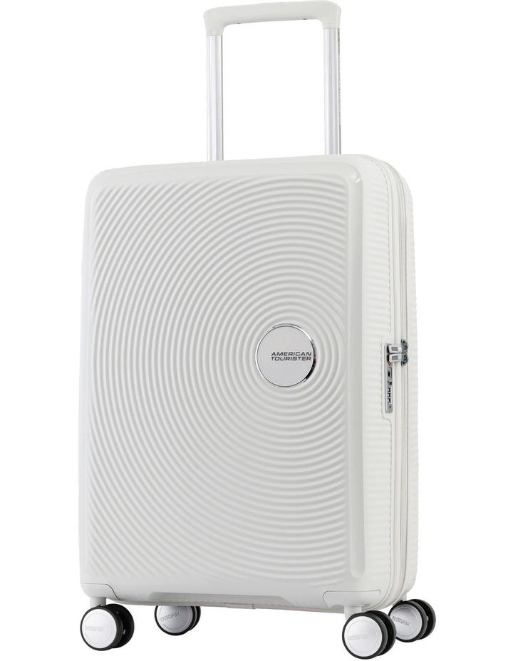 Curio Hardside Spinner Case Small 55cm White 2.6kg image 1