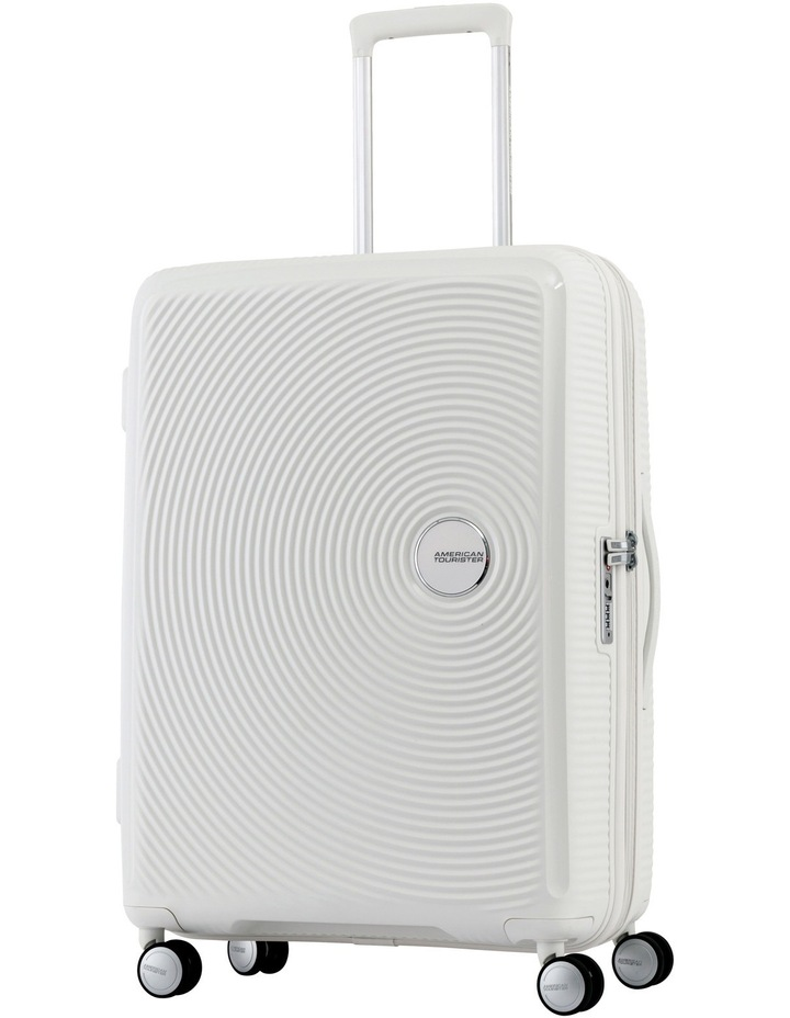 Curio Expandable Hardside Spinner Case Medium 70cm White 3.8kg image 1