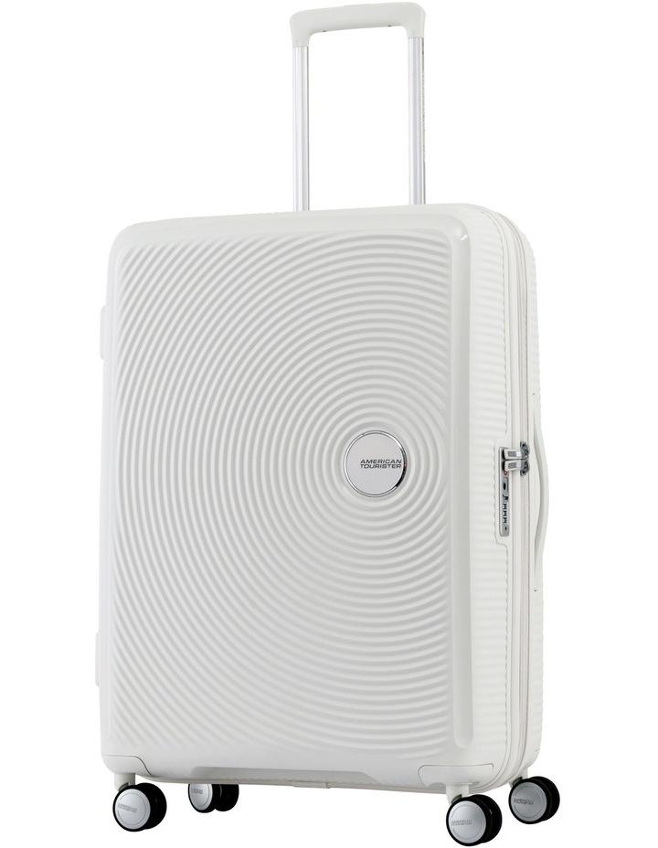 Curio Expandable Hardside Spinner Case Large 80cm White 4.8kg image 1