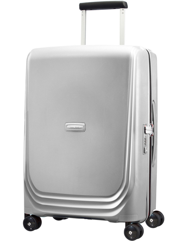 Optic Expandable Hardside Spinner Case Small : Silver: 55cm: 2.7kg image 1