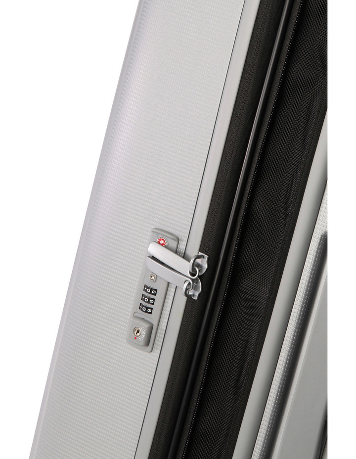 Optic Expandable Hardside Spinner Case Small : Silver: 55cm: 2.7kg image 3