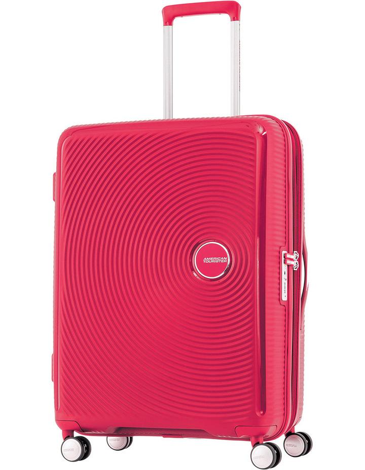 Curio Expandable Hardside Spinner Case Large: 80cm Pink 4.8kg: image 1