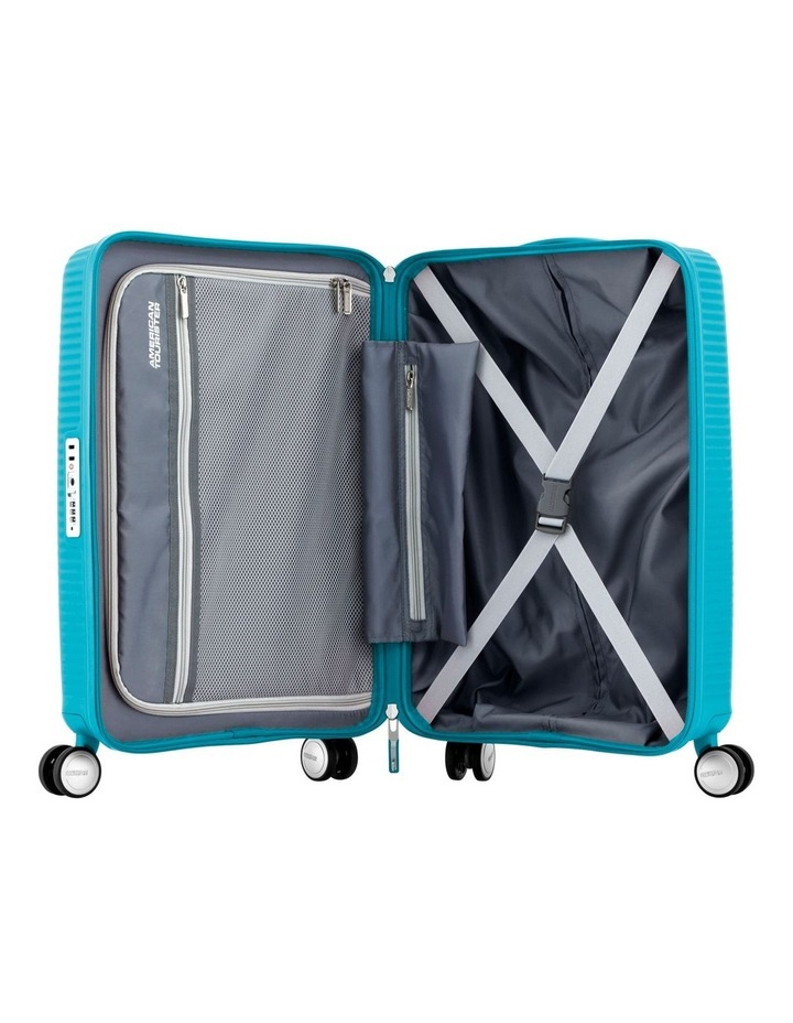 Curio Hardside Spinner Case Small 55cm Turquoise 2.6kg image 3