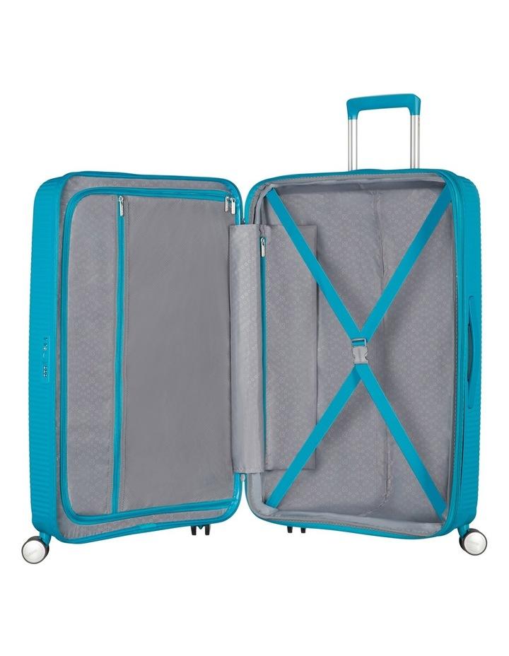 Curio Expandable Hardside Spinner Case Medium 69cm Turquoise 3.7kg image 4