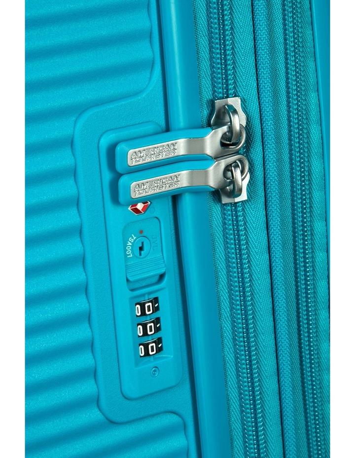 Curio Expandable Hardside Spinner Case Medium 69cm Turquoise 3.7kg image 8