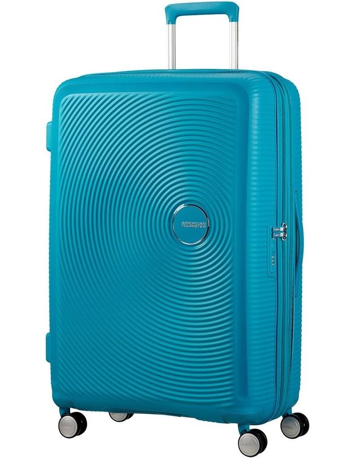 Curio Expandable Hardside Spinner Case Large: 80cm Turquoise 4.8kg: image 1