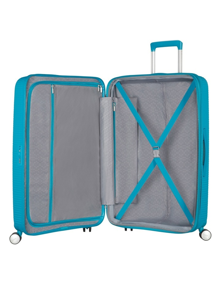 Curio Expandable Hardside Spinner Case Large: 80cm Turquoise 4.8kg: image 2
