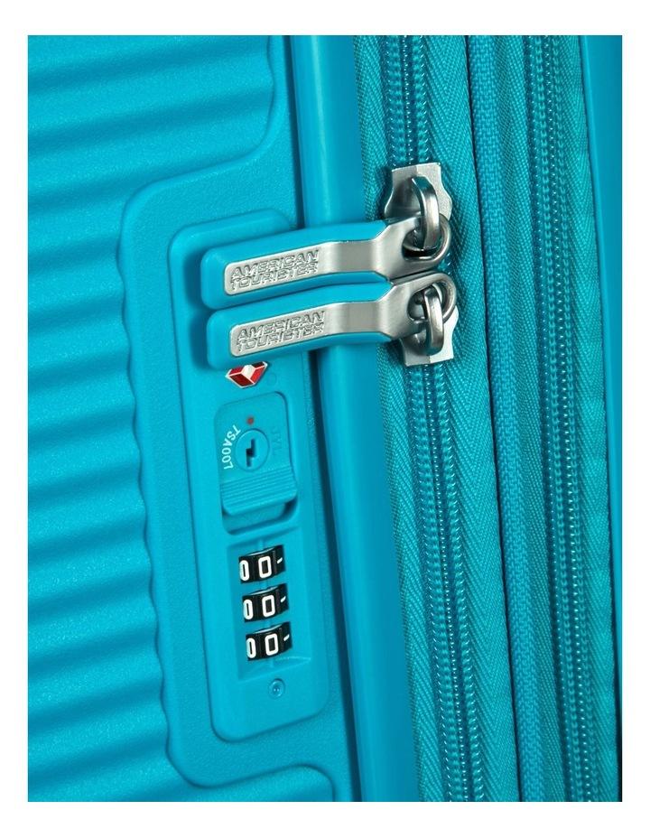 Curio Expandable Hardside Spinner Case Large: 80cm Turquoise 4.8kg: image 7