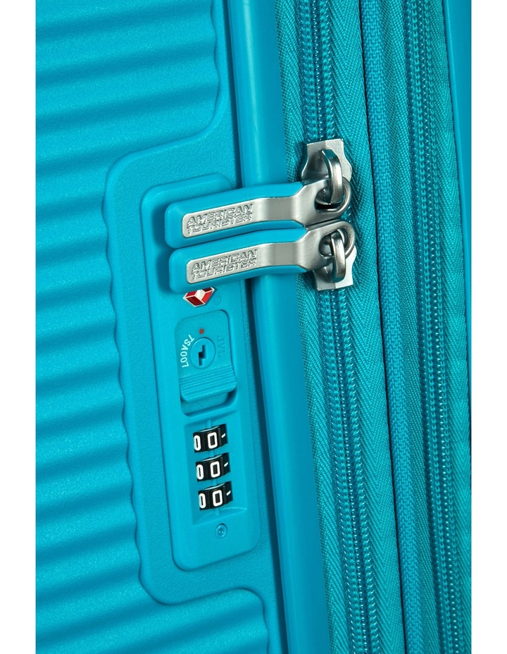 Curio Expandable Hardside Spinner Case Large: 80cm Turquoise 4.8kg: image 4