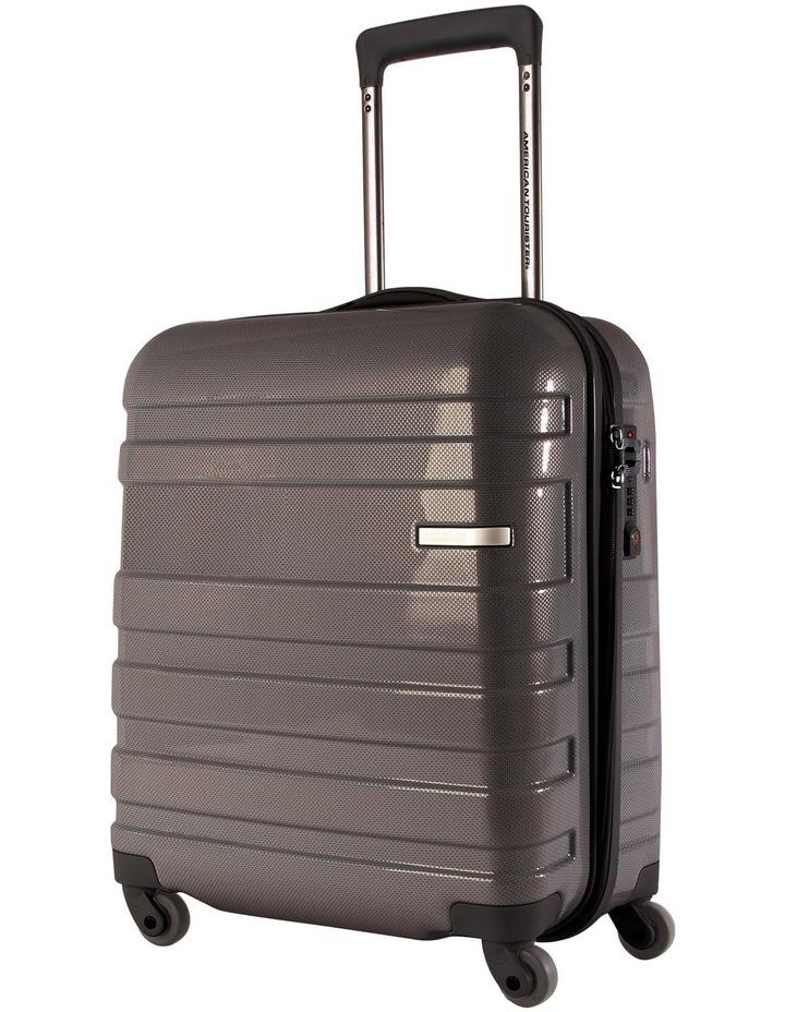 HS MV  Hardside Spinner Case Small 50cm Black/Check 2.6kg image 1