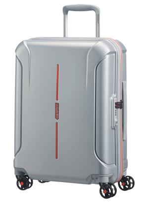 American Tourister - Technum Hardside Spinner Case Small Aluminium: 55cm 2.9kg