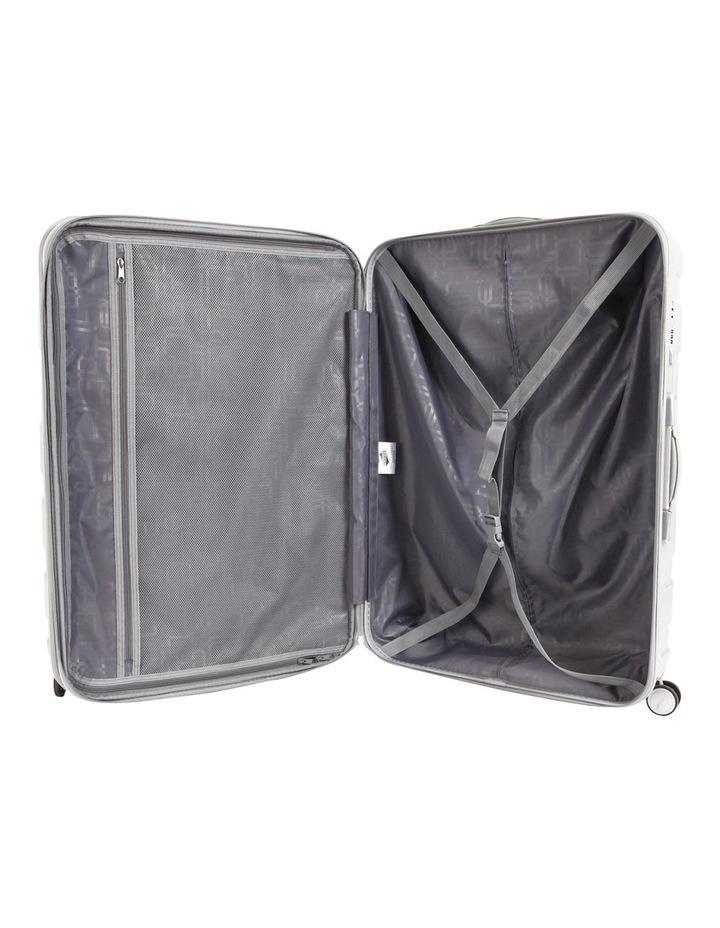 HS MV  Deluxe Expandable Hardside Spinner Case White: Small 55cm  2.9kg image 2