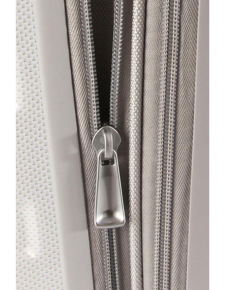 HS MV  Deluxe Expandable Hardside Spinner Case White: Small 55cm  2.9kg image 3