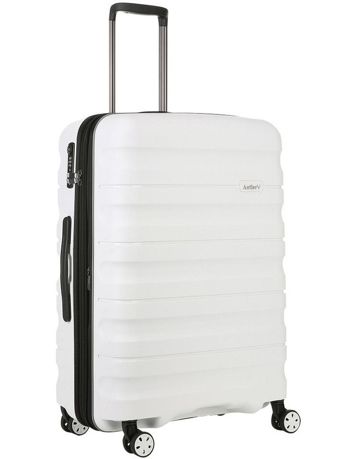 Juno 2 expandable hardside spinnercase medium 3.5kg 68cm - White image 3