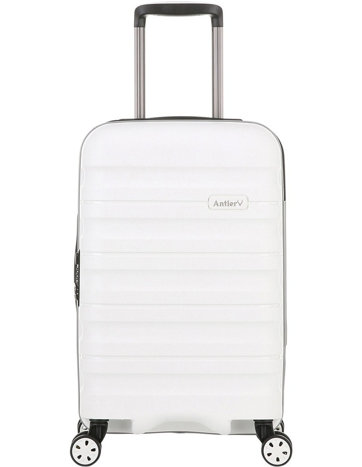 Juno 2 expandable hardside spinnercase small 2.5kg 56cm - White image 1