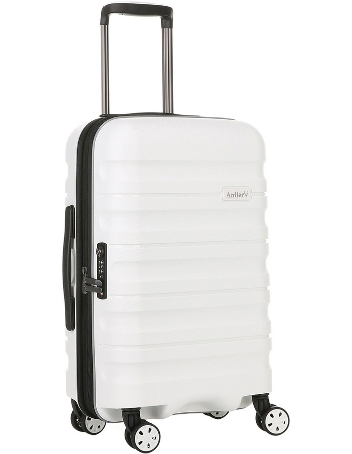 Juno 2 expandable hardside spinnercase small 2.5kg 56cm - White image 3