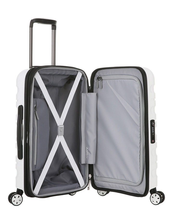 Juno 2 expandable hardside spinnercase small 2.5kg 56cm - White image 4