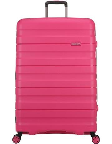 18697fd16 AntlerJuno 2 expandable hardside spinnercase large 4.4kg 80.5cm - Pink.  Antler Juno 2 expandable hardside spinnercase large 4.4kg 80.5cm - Pink