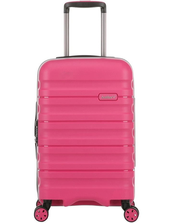 Juno 2 expandable hardside spinnercase small 2.5kg 56cm - Pink image 1