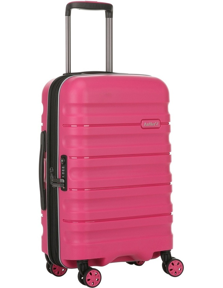 Juno 2 expandable hardside spinnercase small 2.5kg 56cm - Pink image 3