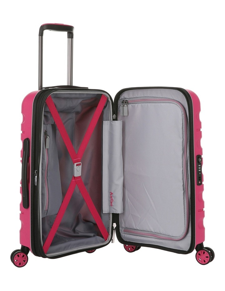 Juno 2 expandable hardside spinnercase small 2.5kg 56cm - Pink image 4