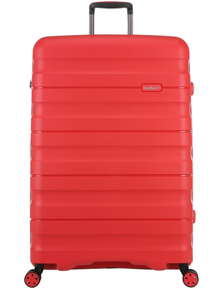 Juno 2 expandable hardside spinnercase large 4.4kg 80.5cm - Red image 1