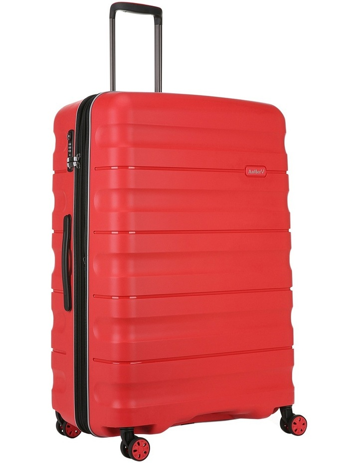 Juno 2 expandable hardside spinnercase large 4.4kg 80.5cm - Red image 3