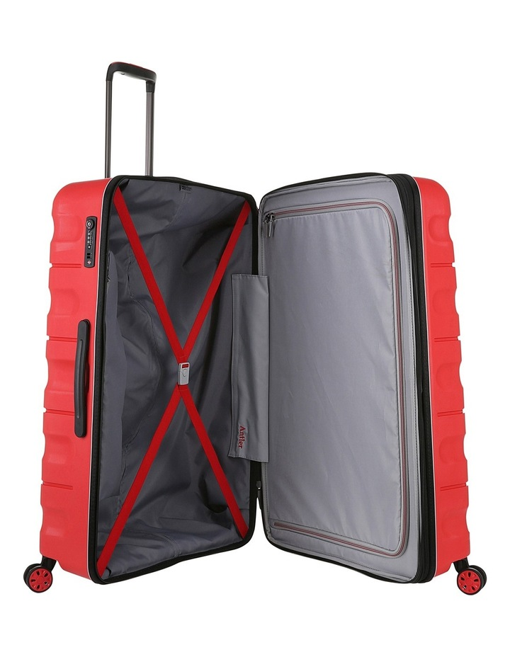Juno 2 expandable hardside spinnercase large 4.4kg 80.5cm - Red image 4