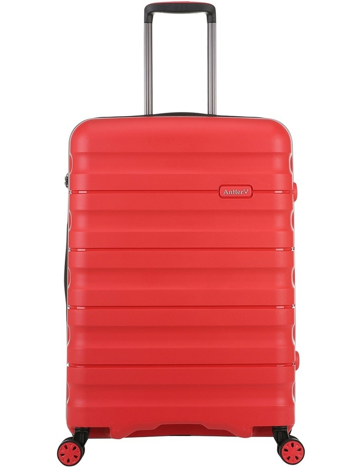 Juno 2 expandable hardside spinnercase medium 3.5kg 68cm - Red image 1