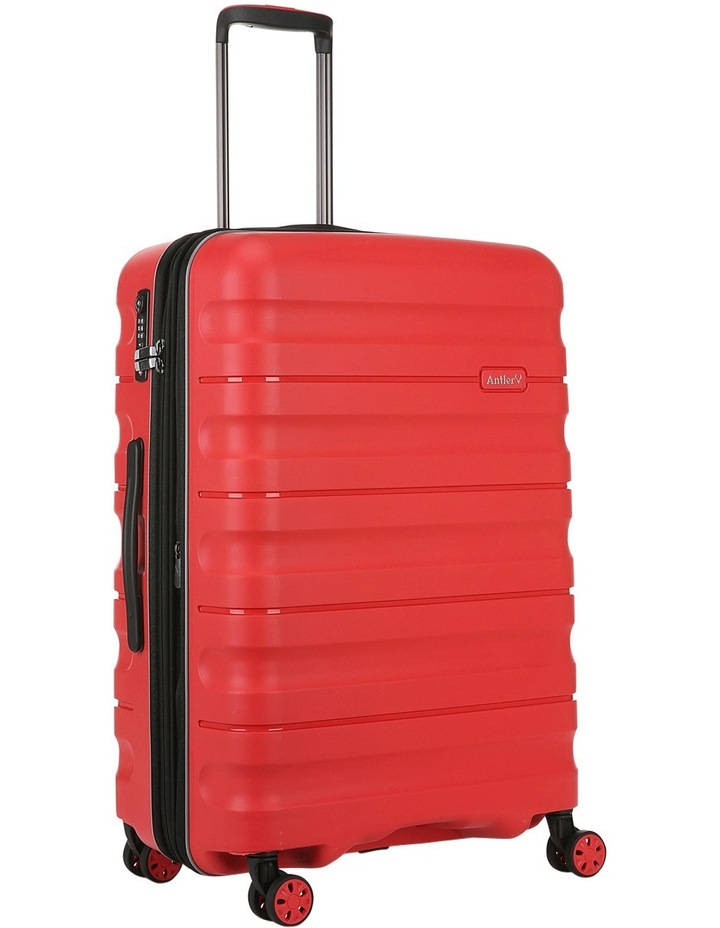 Juno 2 expandable hardside spinnercase medium 3.5kg 68cm - Red image 3