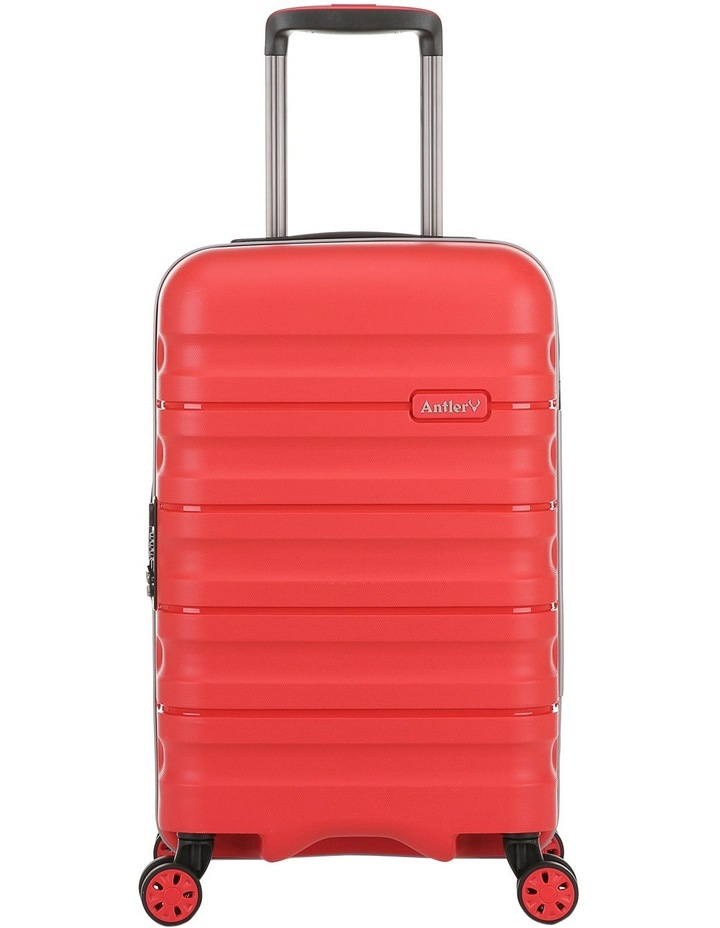 Juno 2 expandable hardside spinnercase small 2.5kg 56cm - Red image 1