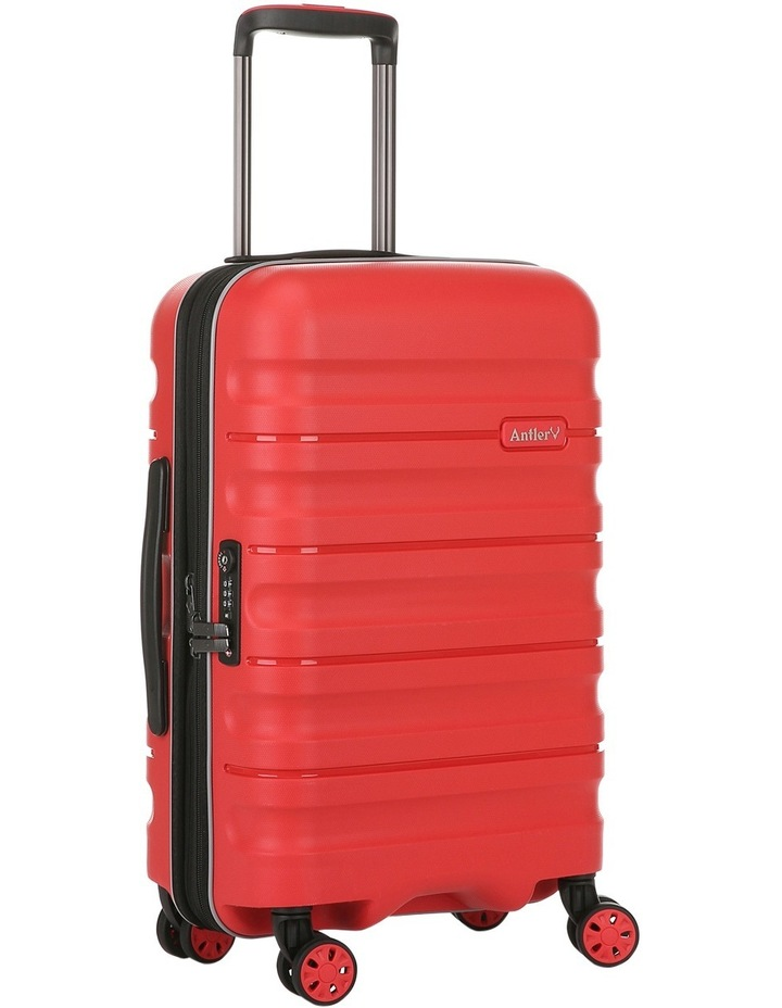 Juno 2 expandable hardside spinnercase small 2.5kg 56cm - Red image 3