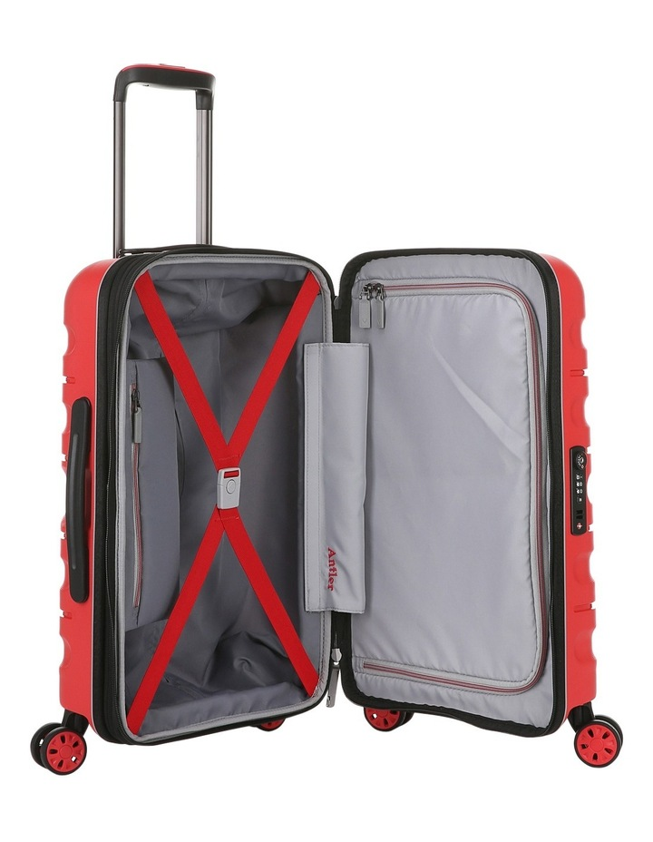 Juno 2 expandable hardside spinnercase small 2.5kg 56cm - Red image 4