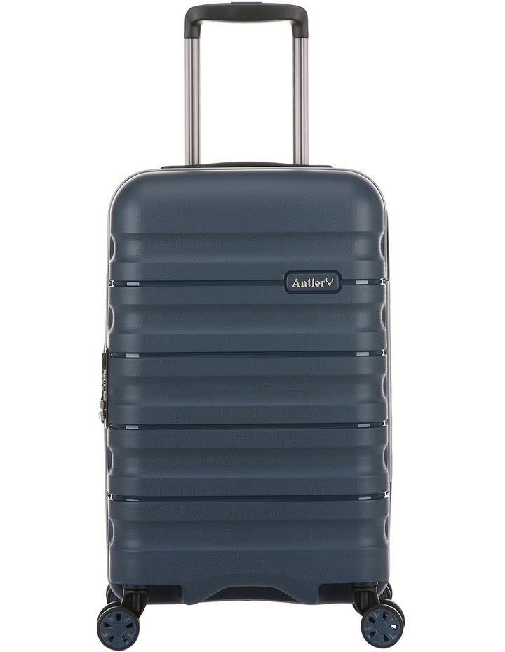 Juno 2 expandable hardside spinnercase small 2.5kg 56cm - Navy image 1