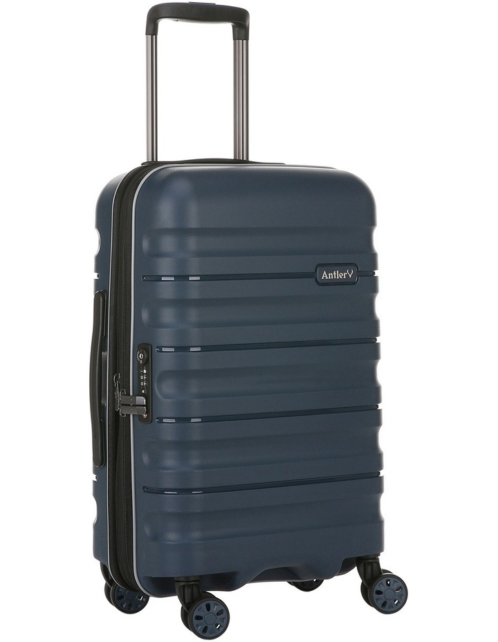 Juno 2 expandable hardside spinnercase small 2.5kg 56cm - Navy image 3