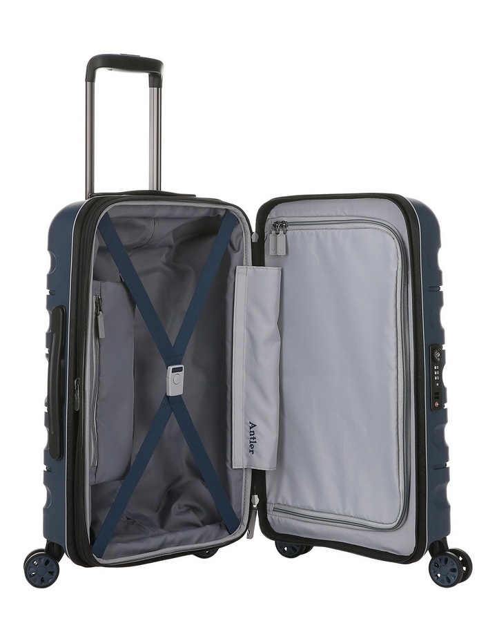 Juno 2 expandable hardside spinnercase small 2.5kg 56cm - Navy image 4