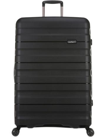 a066bb6a9553 AntlerJuno 2 expandable hardside spinnercase large 4.4kg 80.5cm -Black