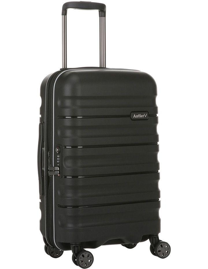Juno 2 expandable hardside spinnercase small 2.5kg 56cm - Black image 2