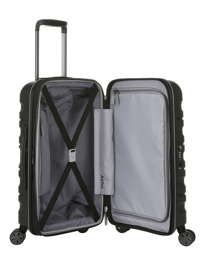 Juno 2 expandable hardside spinnercase small 2.5kg 56cm - Black image 4