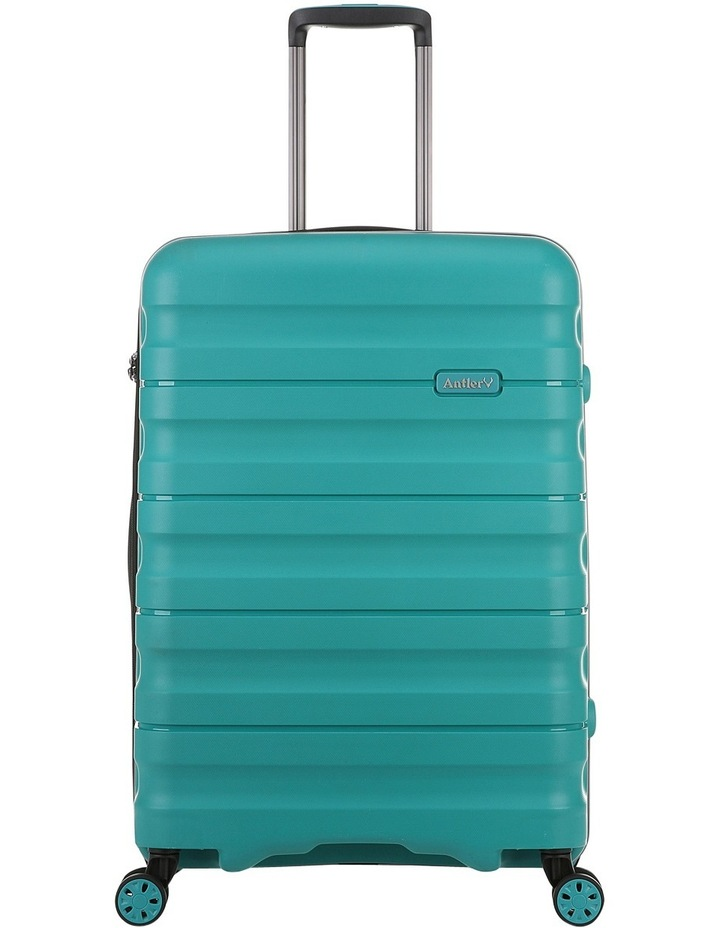 Juno 2 expandable hardside spinnercase medium 3.5kg 68cm - Teal image 1